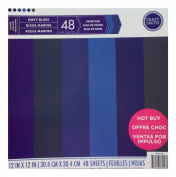 Craft Smith Paper Pad 12X12 NAVY BLUES