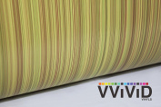 VVIVID Light Striped Oak Wood Grain Faux Finish Textured Vinyl Wrap Film for Home Office Furniture DIY Easy to Instal No Mess 0.6m x 120cm