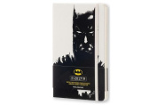 Moleskine 2016-2017 Batman Limited Edition Weekly Notebook, 18m, Large, White, Hard Cover