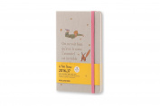 Moleskine 2016-2017 Le Petit Prince Limited Edition Weekly Notebook, 18m, Large, Light Grey, Hard Cover