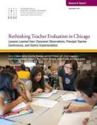 Rethinking Teacher Evaluation in Chicago