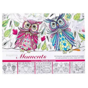 Coloring/Craft Book Inspiring Moments