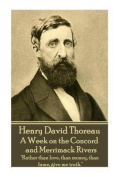 Henry David Thoreau - A Week on the Concord and Merrimack Rivers