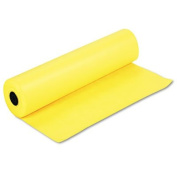 "Spectra ArtKraft Duo-Finish Paper, 22kg., 90cm "" x 300m, Canary Yellow, Sold as 1 Roll"