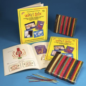 Wikki Stix Wax Classroom Pack, 15cm , Assorted colours, Pack of 600
