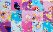 40 13cm Disney Princess quilting squares Charm Pack