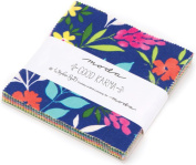 Good Karma Charm Pack By Stephanie Ryan; 110cm - 13cm Precut Fabric Quilt Squares