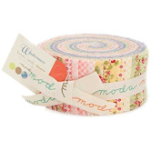 Moda Brenda Riddle Designs Windermere Floral Jelly Roll 42 Fabric Strips 2.5 x 44