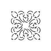 Quilting Creations Elegance Block Quilt Stencil, 7.6cm - 1.3cm