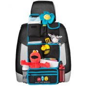 Backseat Car Organiser | Kids Toy Car Storage | Travel Accessories for Baby | Child Car Seat Protector | Great as Baby Shower Gift | Detachable Wallet + Multiple Pockets + Universal Fit + Lifetime Guarantee