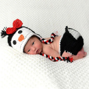 Christams Gift for 0-12 Months Baby, Orangesky Knit Penguin Photography Prop