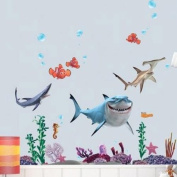 Finding Nemo Wall Sticker Removable Decal Home Decor For Nursery Kids Room