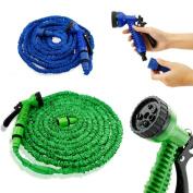 Gearonic Expandable Flexible Stronger Garden Water Hose Spray Nozzle