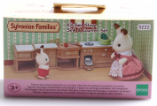 Sylvanian Families Stove Sink And Counter Kitchen Set