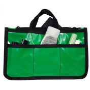 PVC Organiser Cosmetic Badget Insert Purse Organiser Travel Pouch Liner with handle