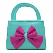 Aisa Little Girls Fashion Tote Handbag Adorable Bowknot Purse