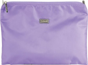 Hadaki Nylon Zip Carry All Pod Large Cosmetic Bag