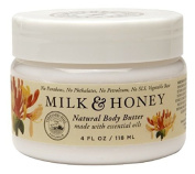 Olivina Body Butter, Milk and Honey, 4 Fluid Ounce
