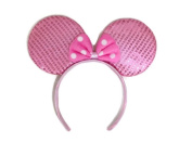 Mickey Mouse Minnie Mouse Ears Headband Sparking : M1