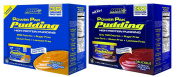 Power Pak Pudding-Butterscotch/Chocolate-6 Cans of Both