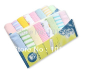 Achievess(TM)New Towel for Baby The Baby Face Towel Small Soft Towel the Handkerchief Cotton Baby Washcloth 8pcs