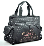 Allis Holiday Large Baby Nappy Changing Bag Nappy Bag insulated-Flower