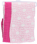 """Yoga Sprout """"Spindly Swirls"""" 2-Pack Muslin Swaddle Blankets - pink, one size"""