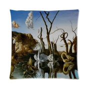 Custom Salvador Dali Art Work,World Famous Painting Throw Pillow Case Cushion Cover 41cm x 41cm - Twin Sides Printing