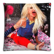 "20x30 20""x30"" 50x76cm pillow cases covers [ Cotton - Polyester ] Standard Sleep Safe Betsey Johnson Famous brand logo"