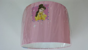 "12""/30 cm Princess Portrait Pink wallpaper light shade ..Handmade."