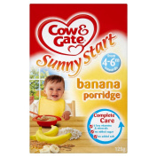 Cow and Gate 4 to 6 Months Baby Balance Banana Porridge 125 g