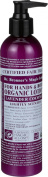 Dr. Bronner's & All-One Organic Lotion for Hands & Body, Lavender Coconut, 240ml Pump Bottle