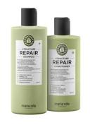 Maria Nila Structure Repair Shampoo and Conditioner Set