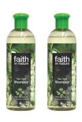 (2 PACK) - Faith Tea Tree Shampoo | 400ml | 2 PACK - SUPER SAVER - SAVE MONEY