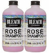 (2 PACK) Bleach London Rose Shampoo x 250ml