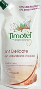 3 X Timotei 2 in 1 Delicate with Jericho Rose Refill Pouch Shampoo 500 ml each