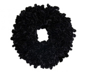 Volumising Velvet Scrunchie Plain Big Hair Tie Bun Clip Hijab Volumizer Scarf