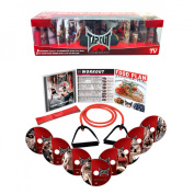TapouT XT STARTER Fitness Program + DVDs✓ Body Band✓ Leg Band✓ AUTHENTIC✓