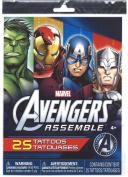 Marvel Comics Avengers Assemble 25 Temporary Tattoos