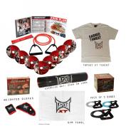 TapouT XT Fitness Program + Gloves + Bands + Towel + MAT + Bottle + TShirt