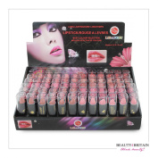 72 x LIPSTICK SET MANY DIFFERENT SHADES FULL SIZE Vitamin A & E WHOLESALE UK