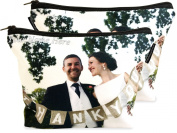 Happy Snap Gifts Personalised Photo Make Up Case Cosmetic Bag