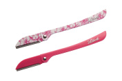 Lilibeth of New York Brow Shaper Set of 2 Hot Pink