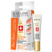 EVELINE Cosmetics Nail Salon Cuticle Remover Gel Softens & Eliminates Dry Cuticles 10ml