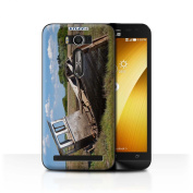 STUFF4 Phone Case / Cover for Asus Zenfone 2 Laser ZE500KL / Shipwrecked Design / British Coast Collection