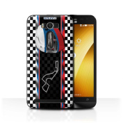 STUFF4 Phone Case / Cover for Asus Zenfone 2 Laser ZE500KL / Russia/Sochi Design / F1 Track Flag Collection
