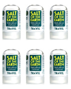 (6 PACK) - Salt Of/Te Natural Deodorant - Travel Size | 50g | 6 PACK - SUPER SAVER - SAVE MONEY