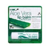 (12 PACK) - Aloe Vera Aloe Vera Lip Balm   4g   12 PACK - SUPER SAVER - SAVE ...
