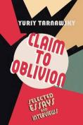 Claim to Oblivion