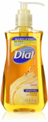 Dial Antibacterial Liquid Hand Soap, Gold, 220ml